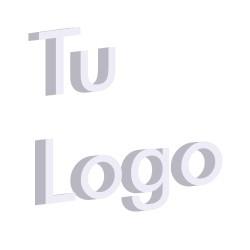 Letras corpóreas en PVC